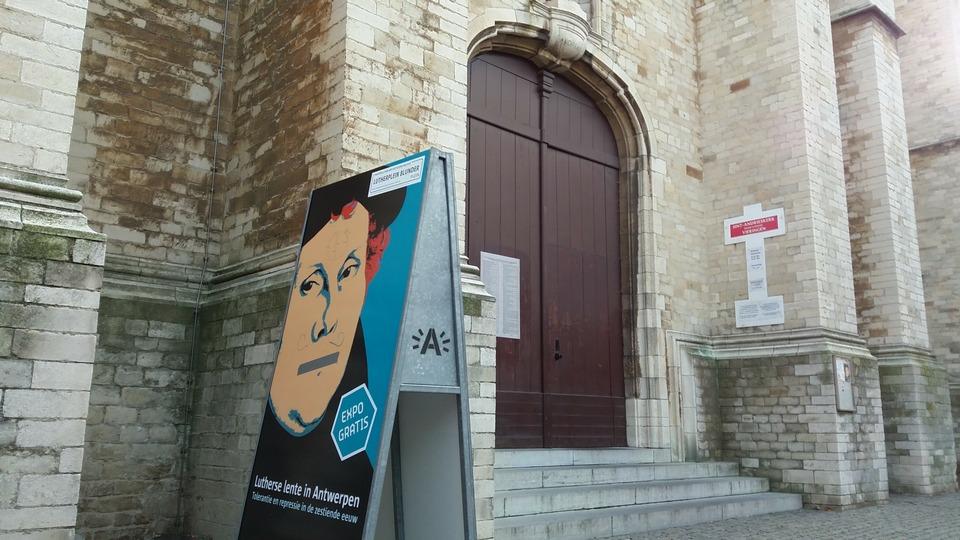 Expo Lutherse lente in de Sint-Andrieskerk