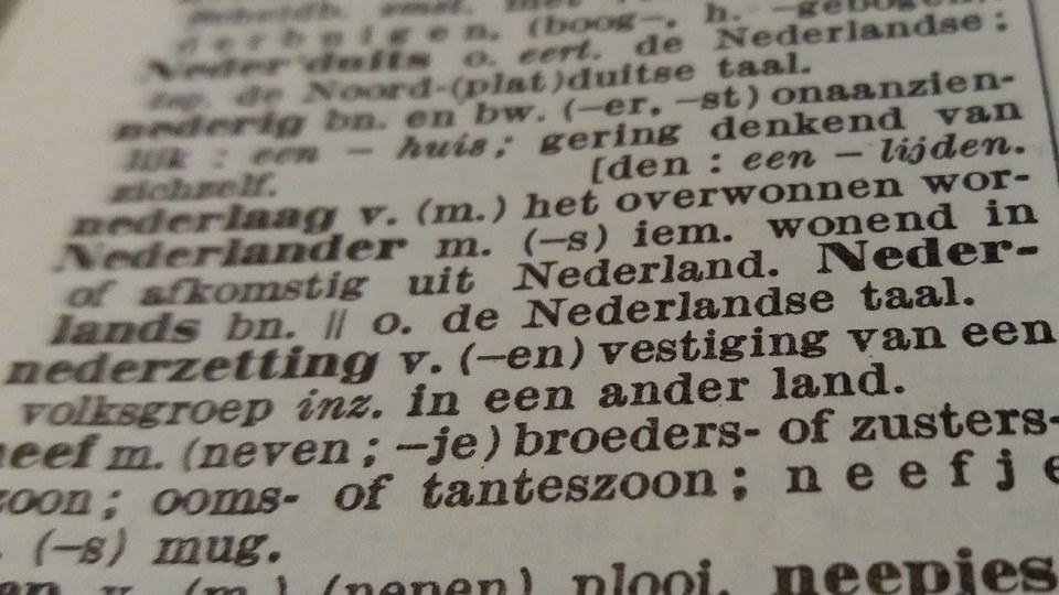 """Lezing """"Nederlands als eenheidstaal"""""""