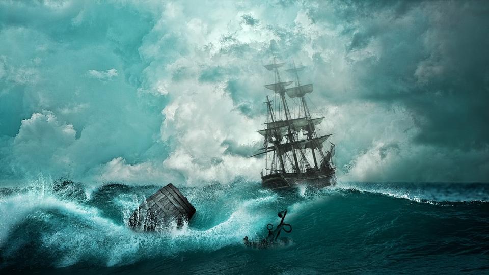 De VOC praatte onder de mast