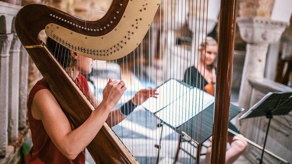Uitstel harpconcert 8 mei