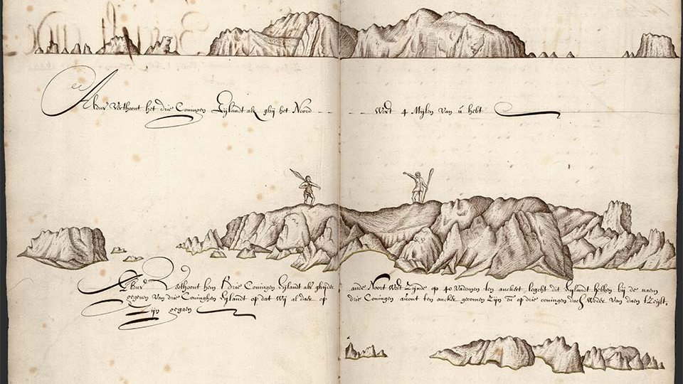 De eerste reis van Abel Tasman (1642-1643)